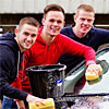 Players clean up at the Pars carwash